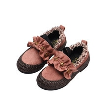 Spring Autumn Kids Casual Single Shoes for Children Soft Soles Girls Princess Shoes Chaussure Fille