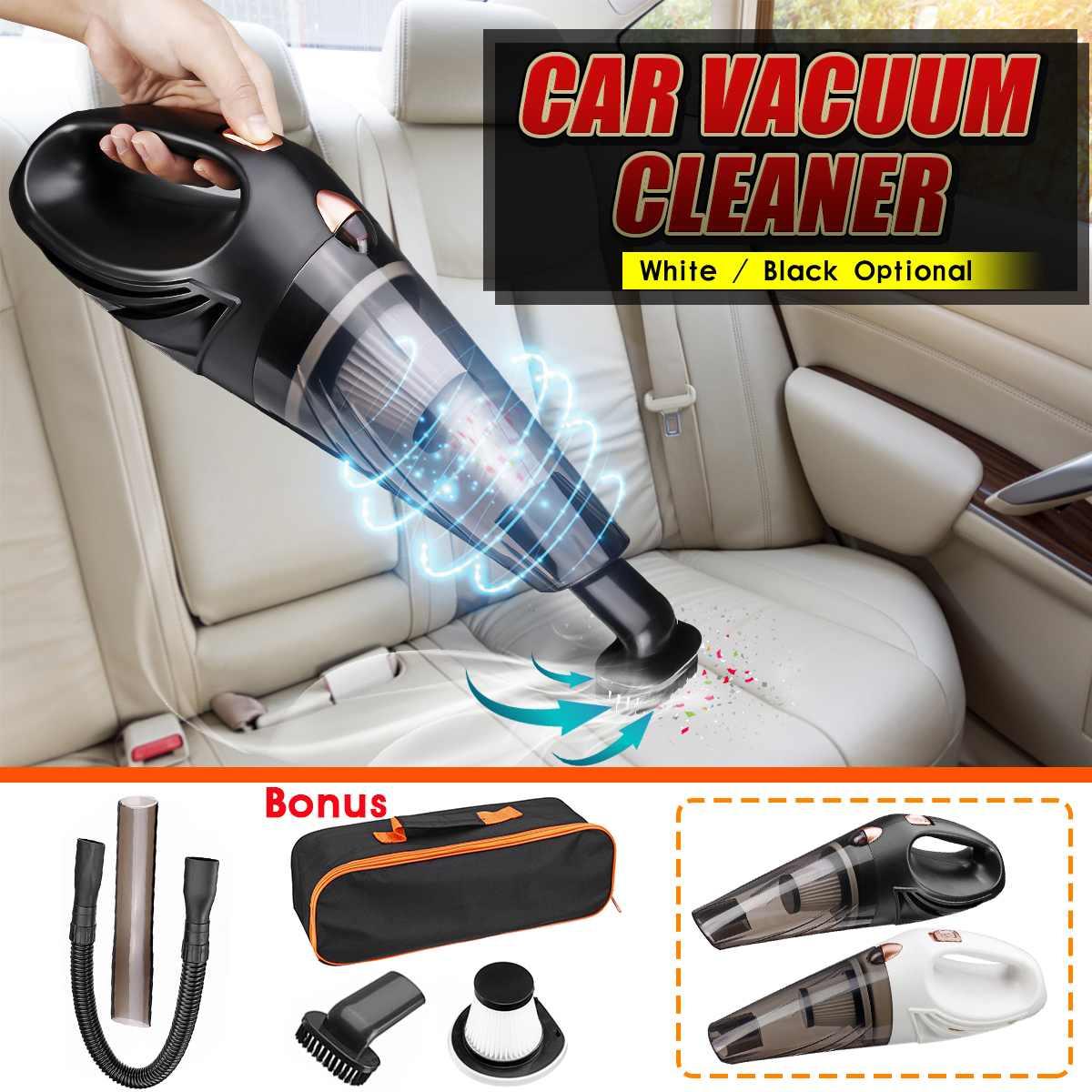 12V Car Vacuum Cleaner Automobile Auto Handheld Vacuum Cleaner Dry / Wet Portable Duster Indoor Home Car interior Powerful