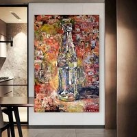street graffiti pop art cocoa cola pictures canvas painting wall art picture modern poster and prints in livingroom decor home
