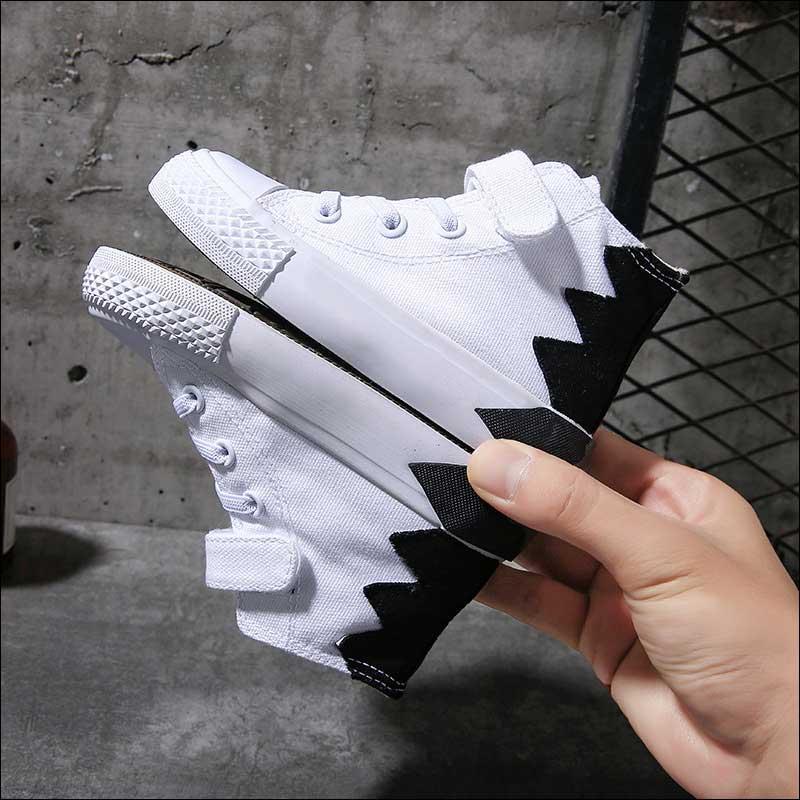 Zapatos De Skate para niños y niñas, zapatillas De lona De alta...