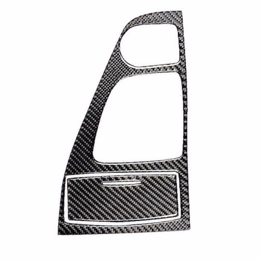 2pcs 14-20 Carbon Fiber Driver Panel-left-hand Drive For Infiniti Q50/Q60 V37 Console Gear Shift Panel Cover Trim