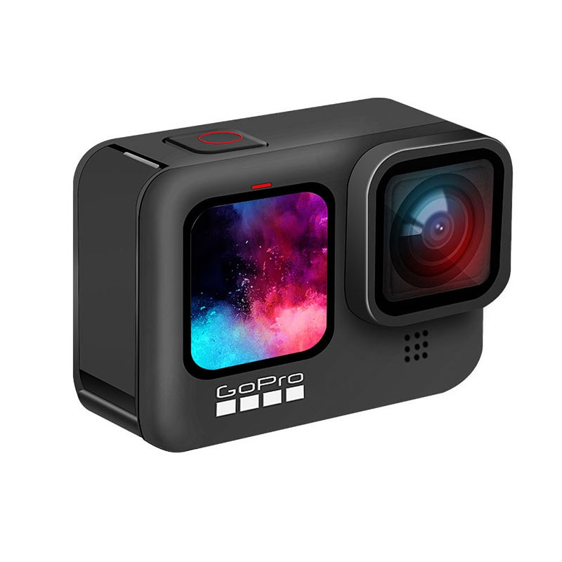 GoPro HERO 9 Black Underwater Action Camera 4K 5K with Color Front Screen, Sports Cam  20MP Photos, Live Streaming Go Pro HERO 9