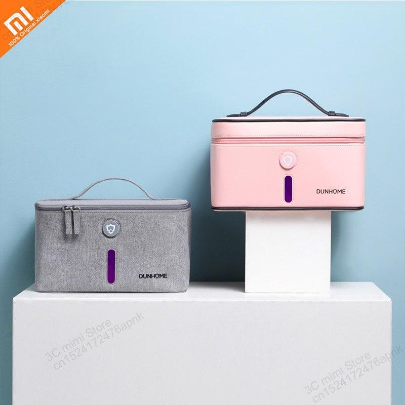 Xiaomi mijia Deodorization Box LED UV Portable Light Negative Ion Sterilization Box Storage Bag Carrying Case Outdoor Travel 8W