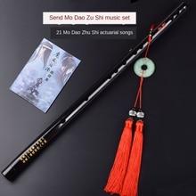 Hot Anime Mo Dao Zu Shi Cosplay accessories  Wei Wuxian Flute  Chinese dizi Transversal Flauta Traditional Musical Instruments
