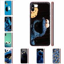 Caja del teléfono para iPhone 11 Pro Max Plus Pro X XS X Max XR 8 7 6S SE 4S 5 5C 5S SE 2020 de dibujos animados lindo monstruo Elmo