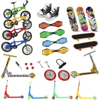 finger skate board bikes tech two wheels mini scooter fingertip bmx bicycle set fingerboard shoes deck toys boys birthday gifts