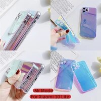 ultra thin laser phone case anti fall protective cover soft shell for redmi note 9 9s 8 7 k20 k30 pro for xiaomi mi note 10 lite