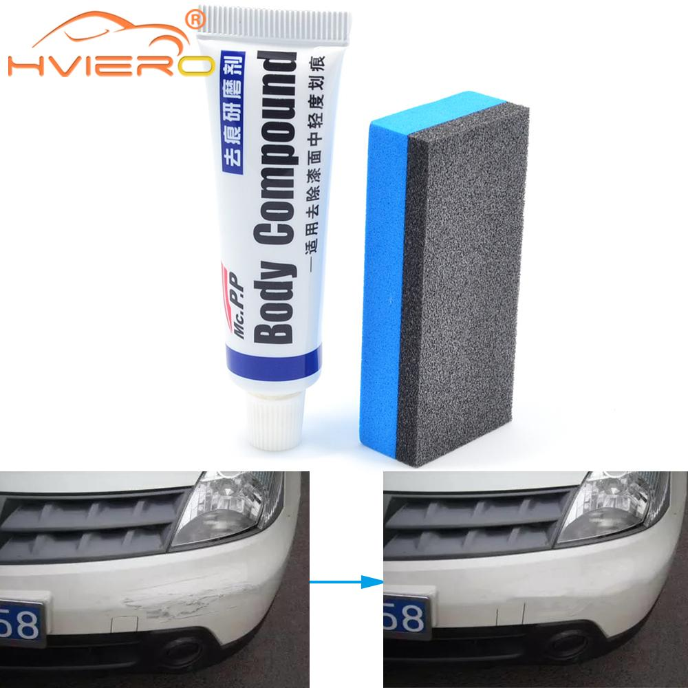 Car Styling Wax Scratch Repair Kit Auto Body Compound MC308 Polishing Grinding Paste Paint Cleaner P