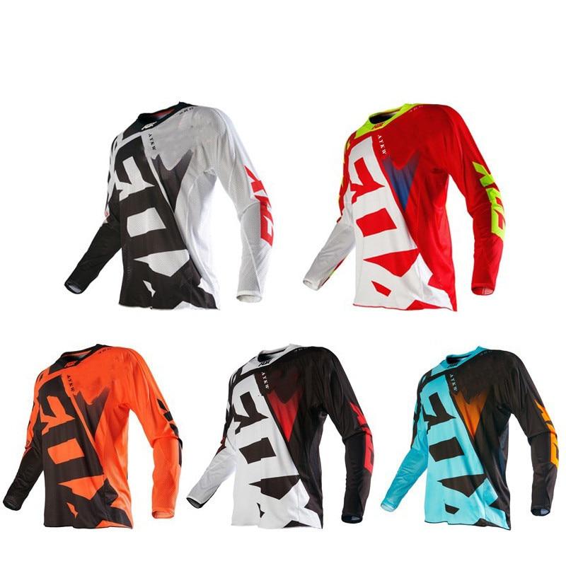 Fox Jersey Enduro Motocross Ciclismo De Hombre Maillot Ropa para bicicleta De...