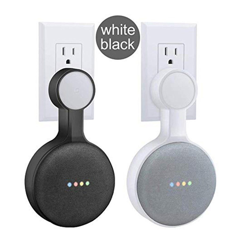 Stojak z uchwytem na ścianę wieszak na zakupy dla Google Home Mini asystent głosowy inteligentny uchwyt do automatyki domowej
