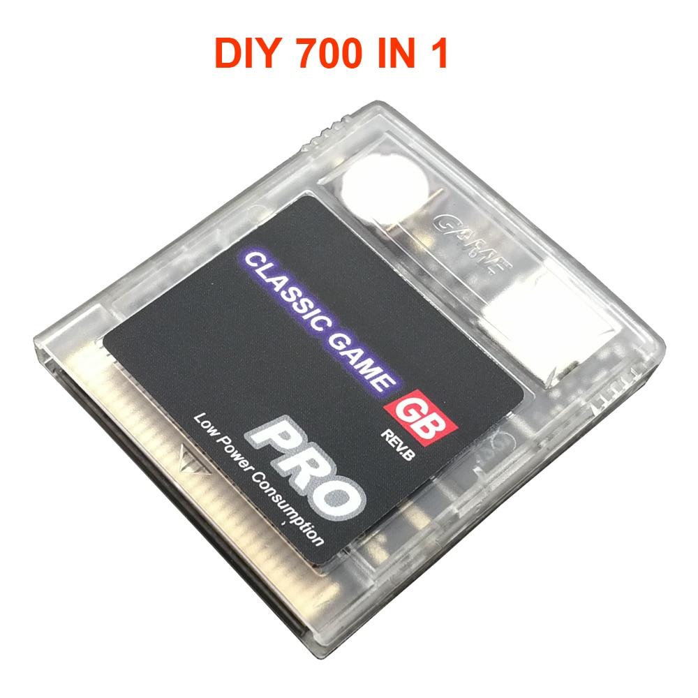 الصين الإصدار 700 في 1 الصين الطبعة GB GBC gameboy لعبة كاسيت ، ومناسبة ل everdrive نينتندو GB GBC SP لعبة وحدة التحكم