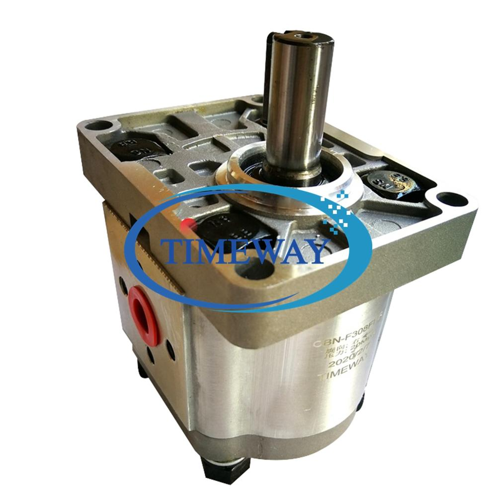 CBN de aceite hidráulico bombas CBN-E304 CBN-E306, bombas de engranajes, CBN-E308 CBN-E310 para maquinaria agrícola llave del eje