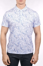 Billionaire polo shirt Pima cotton men 2020 New fashion short sleeve new Casual button print England breathable big size 48-58