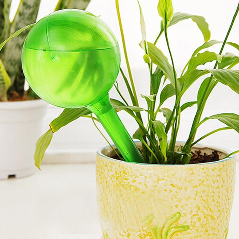 Dispositivo de riego por goteo de PVC para jardinería en el hogar, Bombilla de riego automática para plantas, dispositivo de goteo grande, Maceta de jardín, macetas