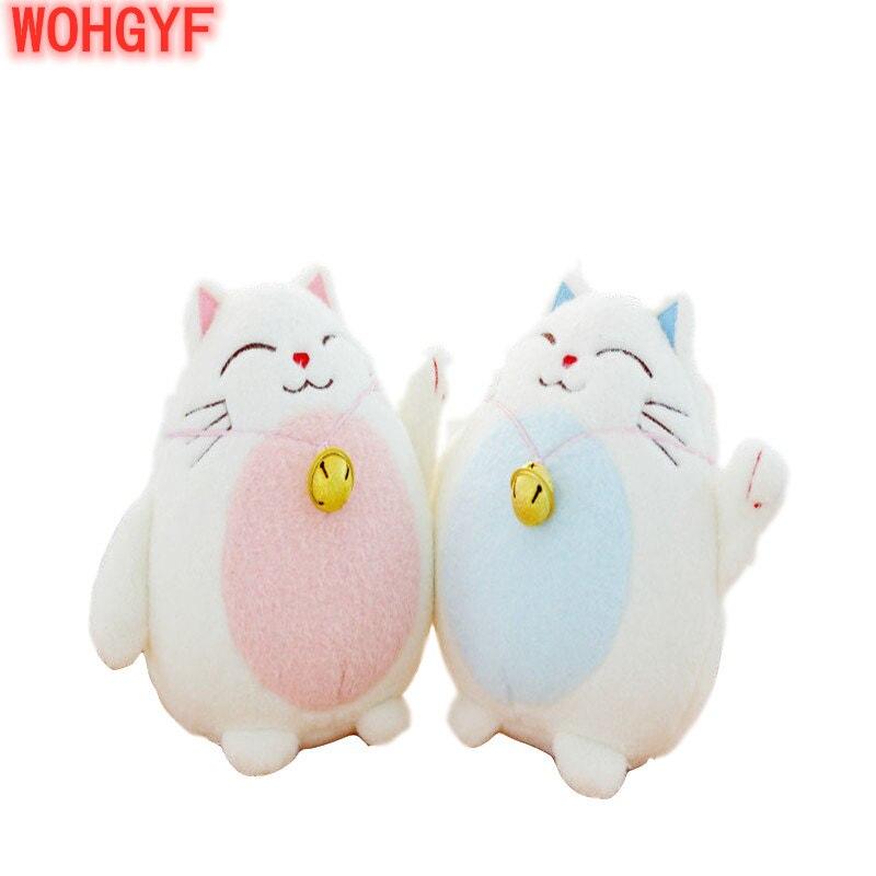 Janpan anime gato brinquedo de pelúcia gato sorte figura de ação chamando trazer dinheiro & gato rico recheado boneca macia mini brinquedo de pelúcia crianças brinquedos