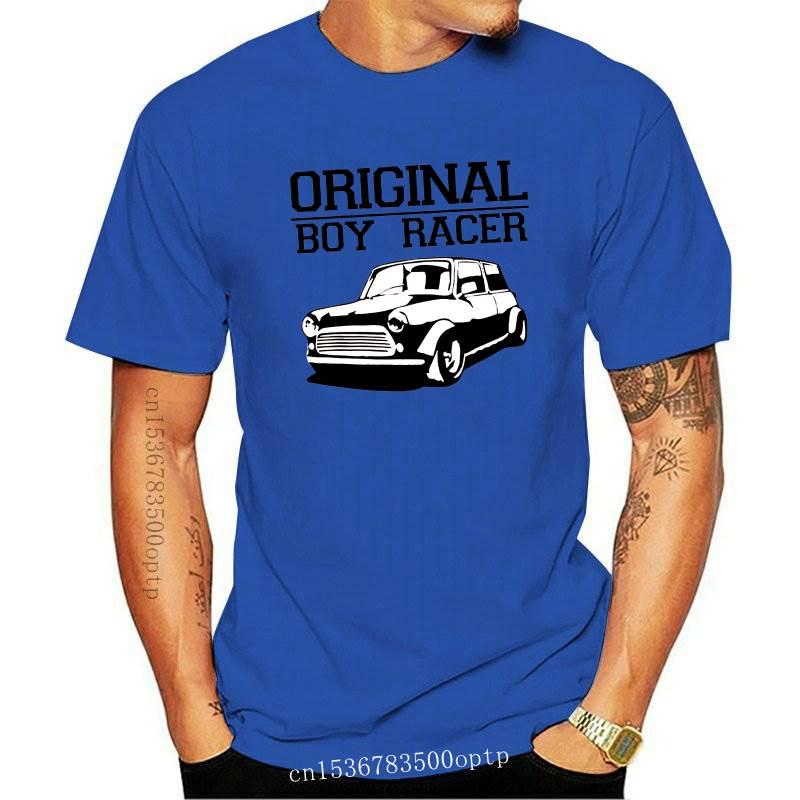 New Original Boy Racer Austin Mini T Shirt Birthday Gift Mens Tshirt Mens 100% Cotton Short Sleeve Print
