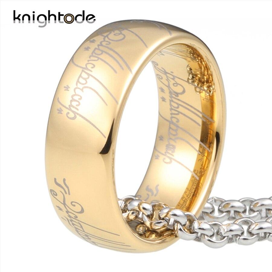 Alta qualidade 6mm 8mm anéis de carboneto de tungstênio para homens mulher topo ouro/rosa ouro/preto/azul chapeado e gravação regular cúpula banda