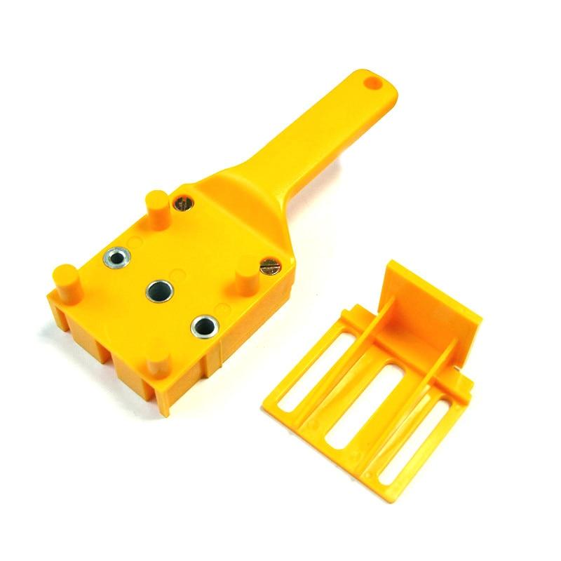Gyors fa dübelfűrész ABS műanyag kézi lyukfúró rendszer 6/8/10 - Szerszámkészletek - Fénykép 4
