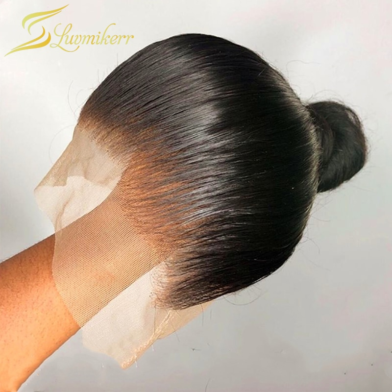 HD Transparent Lace Wigs Preplucked 13X6 Lace Front Human Hair Wigs for Women Undetectable Invisible Lace Wig Long Straight Remy