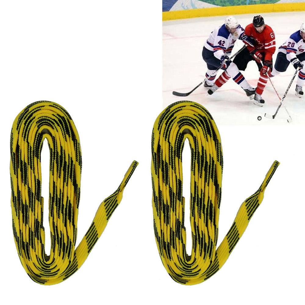 1 Pair 72 84 96 inch Ice Hockey Shoe Laces Shoelaces Roller Skates Boots Skates Shoelaces