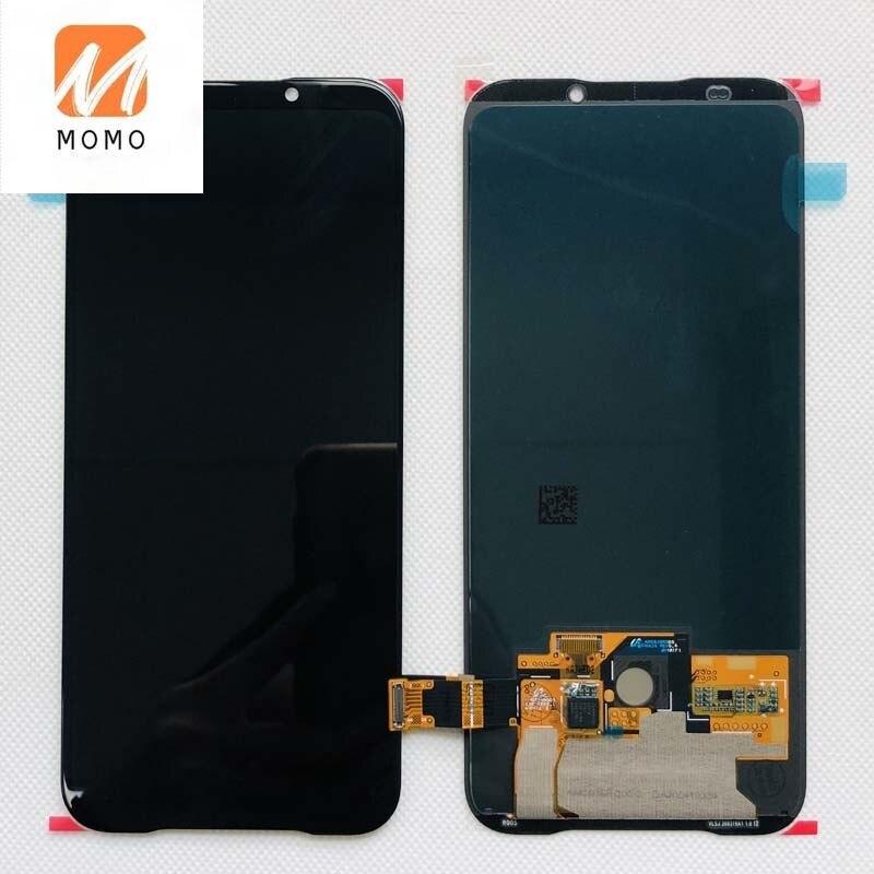 جديد 6.39 ''ل القرش الأسود 2 SKW-H0 SKW-A0 شاشة LCD عرض محول رقمي يعمل باللمس ل القرش الأسود 2 برو DLT-A0