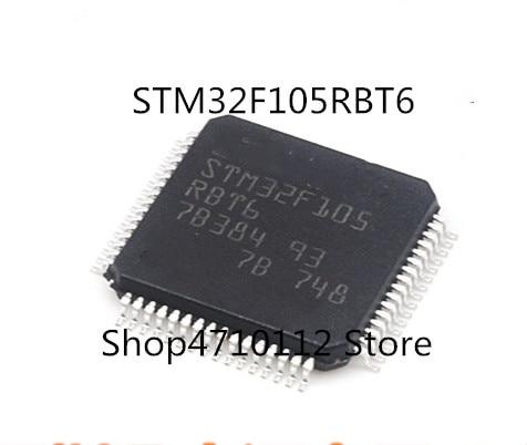 Free Shipping  10PCS/LOT NEW STM32F105RBT6 STM32F105RB STM32F105 LQFP64