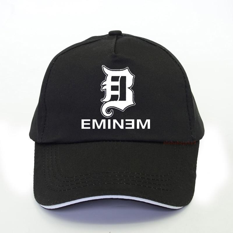 Gorra de béisbol de rapero Eminem, gorra de algodón para hombre, gorra de béisbol de estilo Punk divertido de Hip Hop