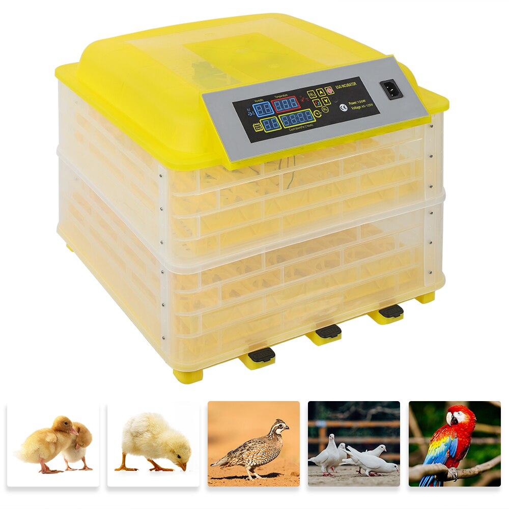 US Farm Egg Incubator 110V Incubator Poultry Digital Brooder Chicken Hatchery Machine Temperature Control Automatic Turn Egg