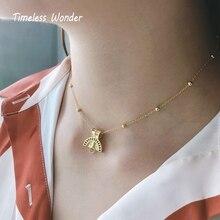 Intemporel merveille 925 en argent Sterling abstrait demi visage collier ras du cou femmes bijoux gothique perles chaînes cadeau de noël mélange 3161