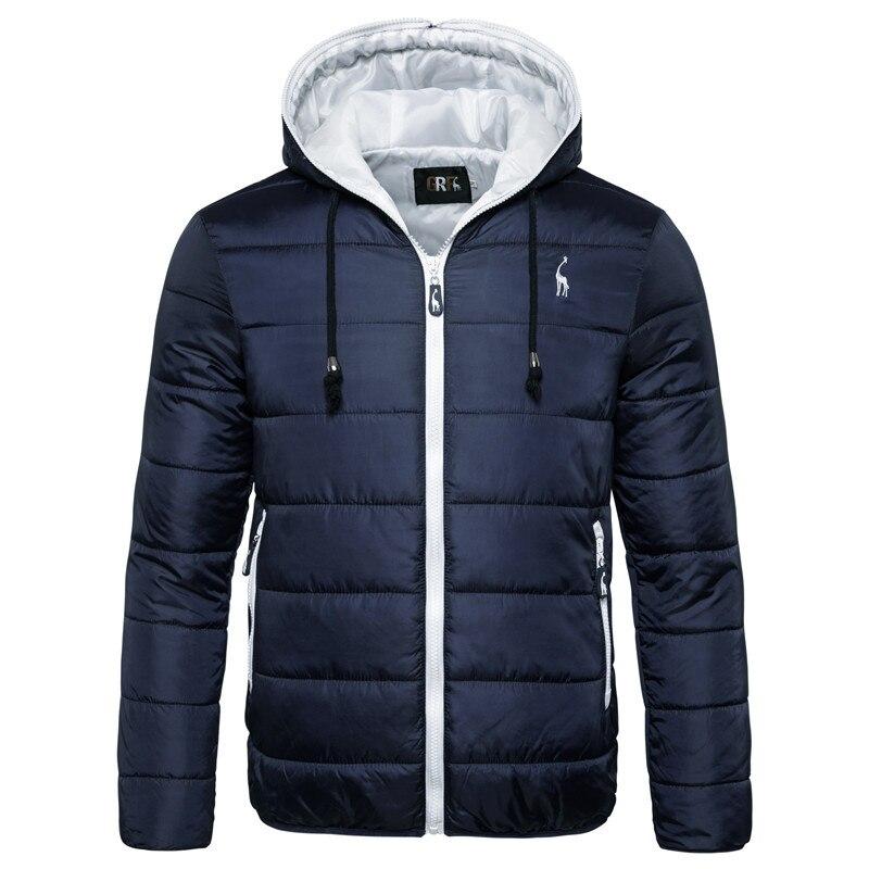 2021 New Waterproof Winter Jacket Men Hoodied Parka Men Warm Winter Coat Men Thicken Zipper Camoufla