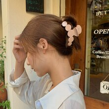 Large Grip Ins Korean Hairpin French Retro Back Head Side Clip Girl Hair Clip Updo Hair Accessories