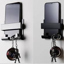 1pcs Hotel Universal Paste Style Phone Charging Holder Bracket Wall Mount Phone Stand