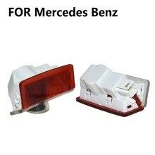 Auto Led Deur Welkom Light Projector Logo Voor Mercedes Benz W212 W213 W205 Amg W177 V177 W247 W176 Gla Glc x253 W246 X166 W166