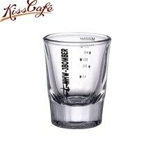 50ml verre mesure tasse boisson outil tir once barre de gabarits mélange Cocktail bécher 10-50ml expresso café tasse à mesurer bol