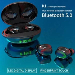 wireless earphones bluetooth tws headset waterproof charging box touch control hifi sound in ears earbuds with microphone phones