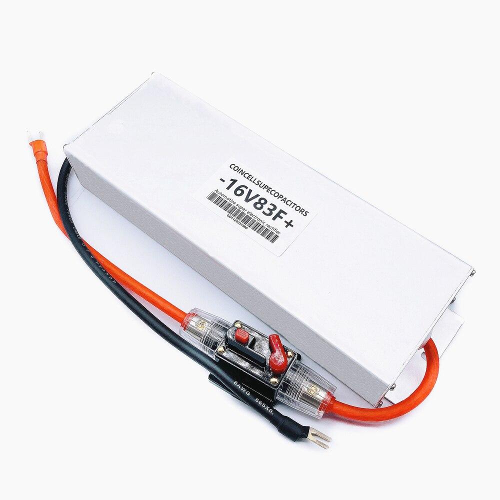 16V83F prostownik samochoداوي superkondensatora 2.7V500F * 6 kondensator rozruchowy