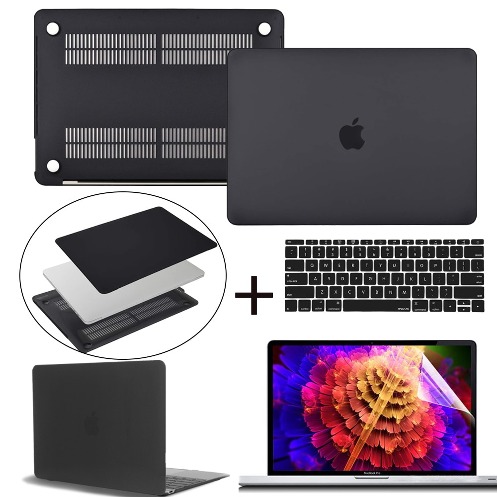 Laptop Case for Apple Macbook Air Pro Retina 11 12 13 15 16 Inch&A2338 A2337 A2159 New Touch Bar for Mac Book Pro 16 A2141 Case