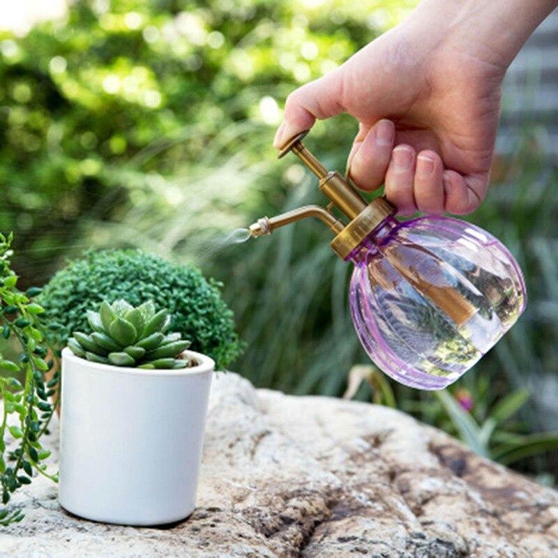 1 шт. цветочный горшок для полива растений античная стеклянная бутылка-спрей садовый парикмахерский опрыскиватель украшение дома