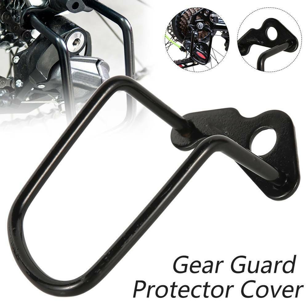Bicycle Rear Gear Derailleur Chain Stay Guard Protector Carbon Steel Mountain Bike Rear Derailleur Protector Cycling Accessories