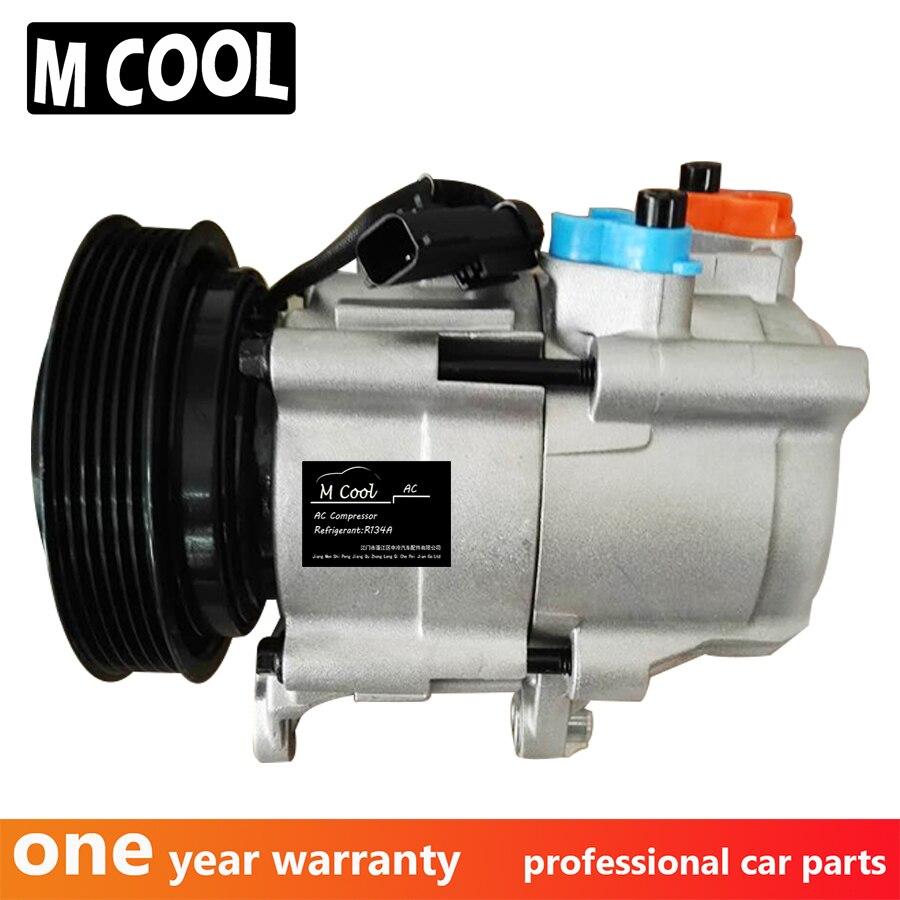Compresor de CA HS18 para Jeep Liberty para Dodge nitro 3.7L 4WD F500-DM5AA-03 55111400AA 55111400AB R5111400AE