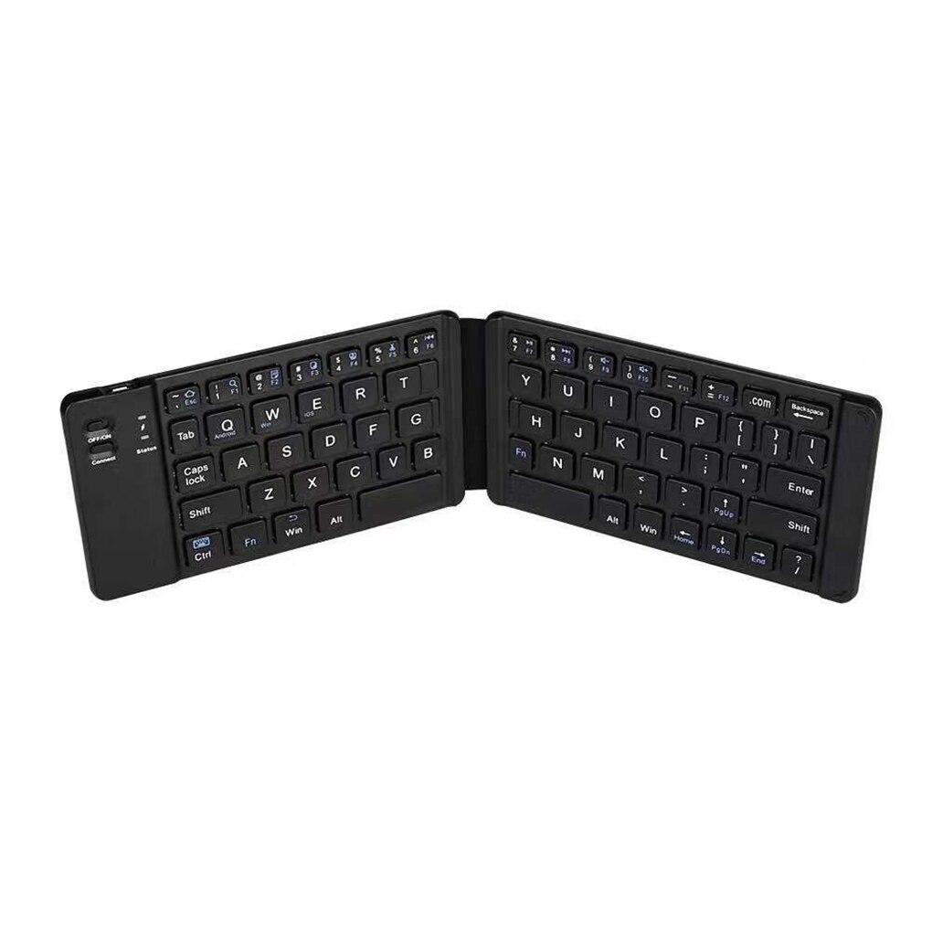Teclado plegable portátil Bluetooth inalámbrico recargable Mini teclado de oficina en casa teclado Universal ordenador portátil