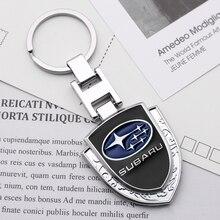 3D métal emblème voiture style porte-clés porte-clés porte-clés pour Subaru Forester Impreza Outback héritage Xv Sti Auto accessoires