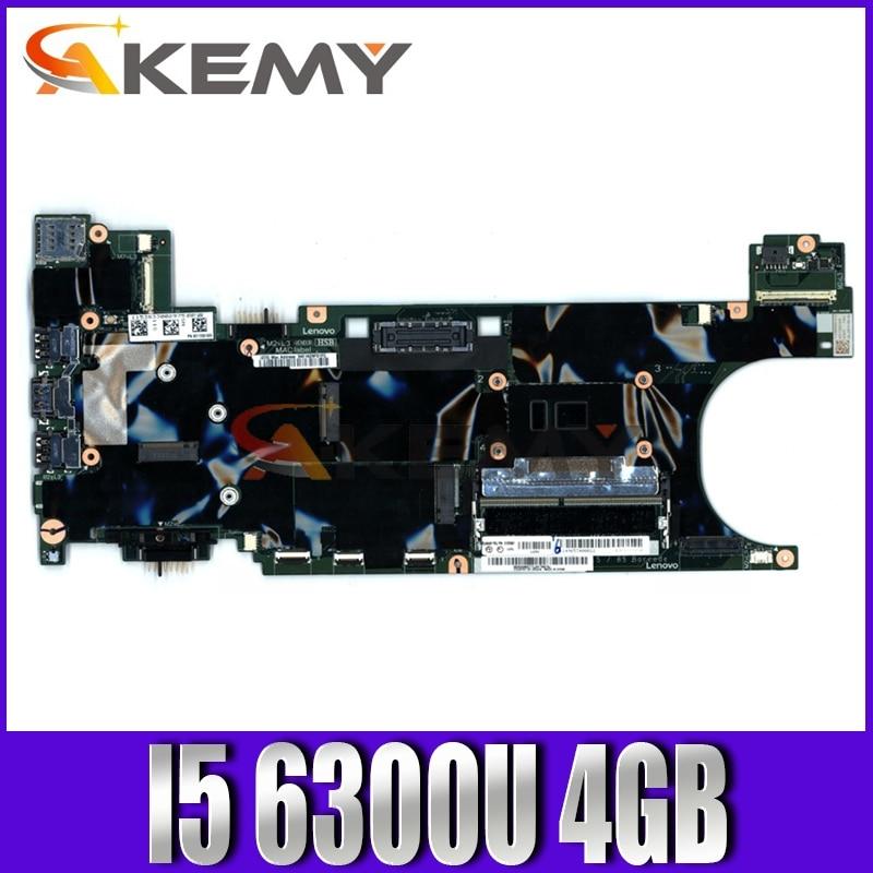 Akemy NM-B081 لينوفو ثينك باد T470S دفتر اللوحة CPU I5 6300U 4GB RAM 100% اختبار العمل FRU 01ER350 01ER353