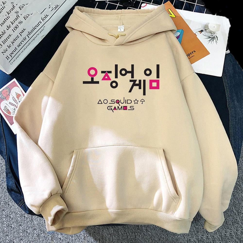 Свитшоты в Корейском стиле, осенние свободные толстовки большого размера с рисунком из мультфильма, свитера в стиле хип-хоп для подростков