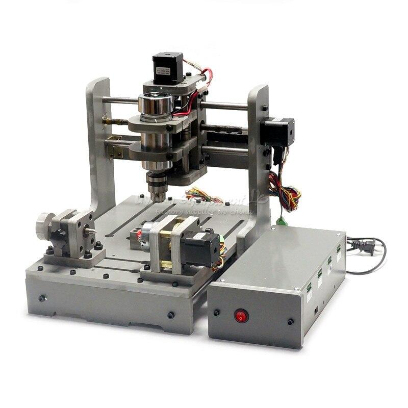 Máquina de grabado DIY CNC mini router carpintería torno Puerto USB