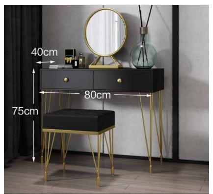 Роскошный скандинавский легкий туалетный столик для спальни современный минималистичный Туалетный Столик Маленький Европейский туалетны...
