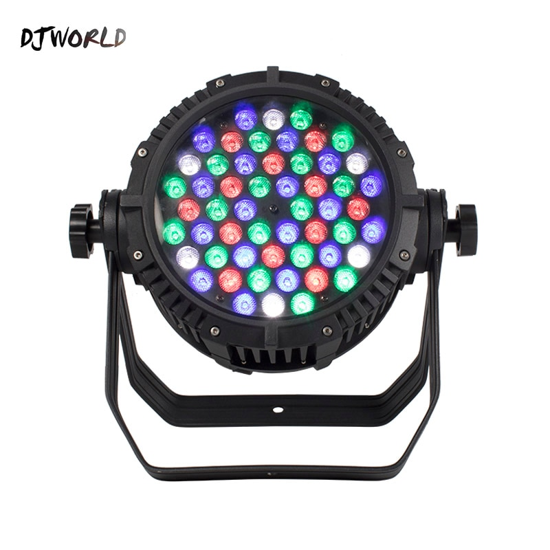 LED Flat Waterproof 54x3W Par Light DMX Controller Party Dj Disco Bar Projector IP65 Professional Stage Equipment