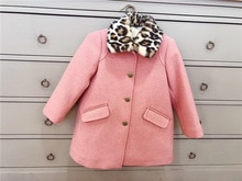 Abrigo de invierno para niñas chaquetas para niñas de color rosa