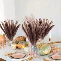 Petit roseaux seches naturels  15 pieces  plantes artificielles pour decoration de maison  bouquet de fleurs de mariage
