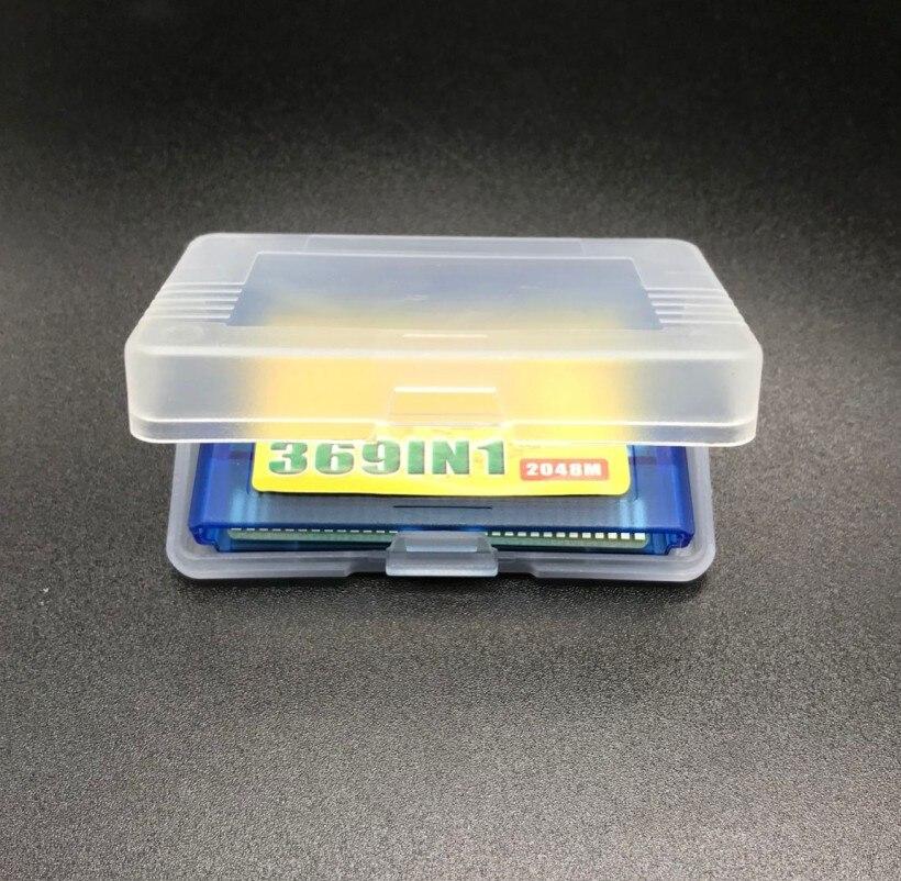5 Pcs Voor Gameboy Advance 369 In 1 Game Card Voor Gba Multi Games Gratis Beschermhoes